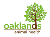 Oaklands Animal Health Mobile Logo